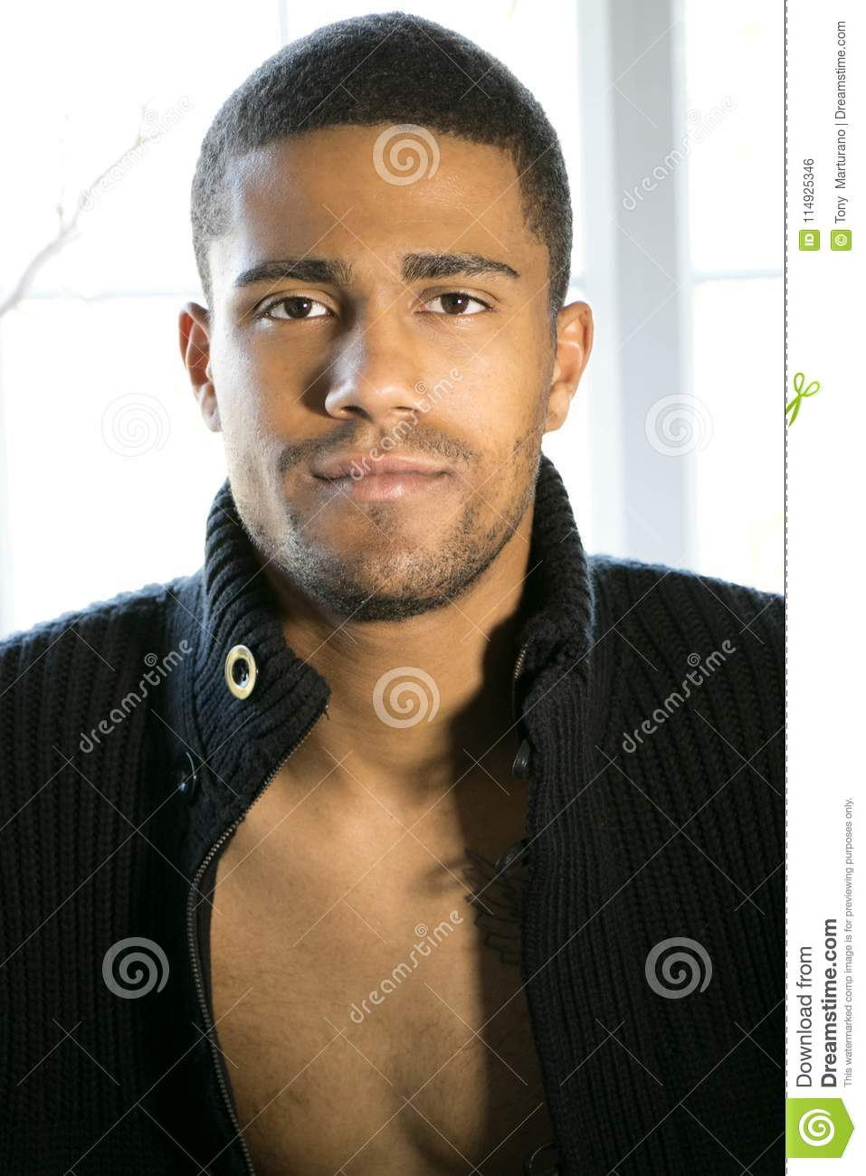 Good looking black men photos