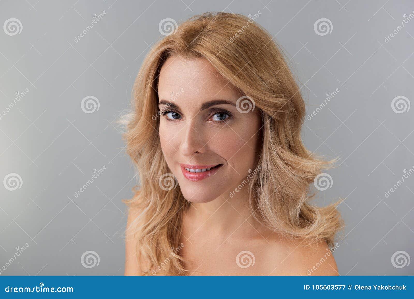 semi nude blonde women
