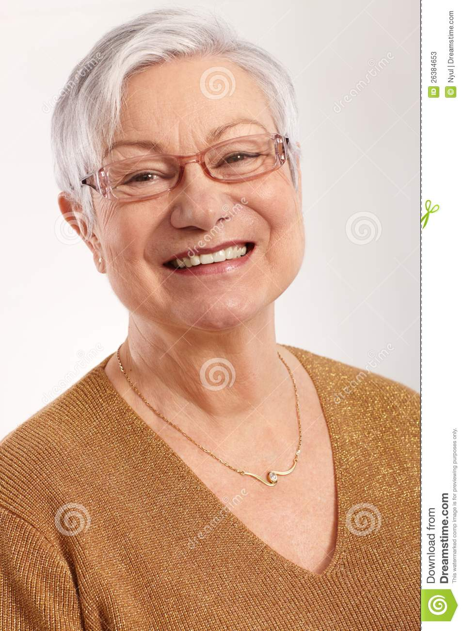 grannies Very with glasses old
