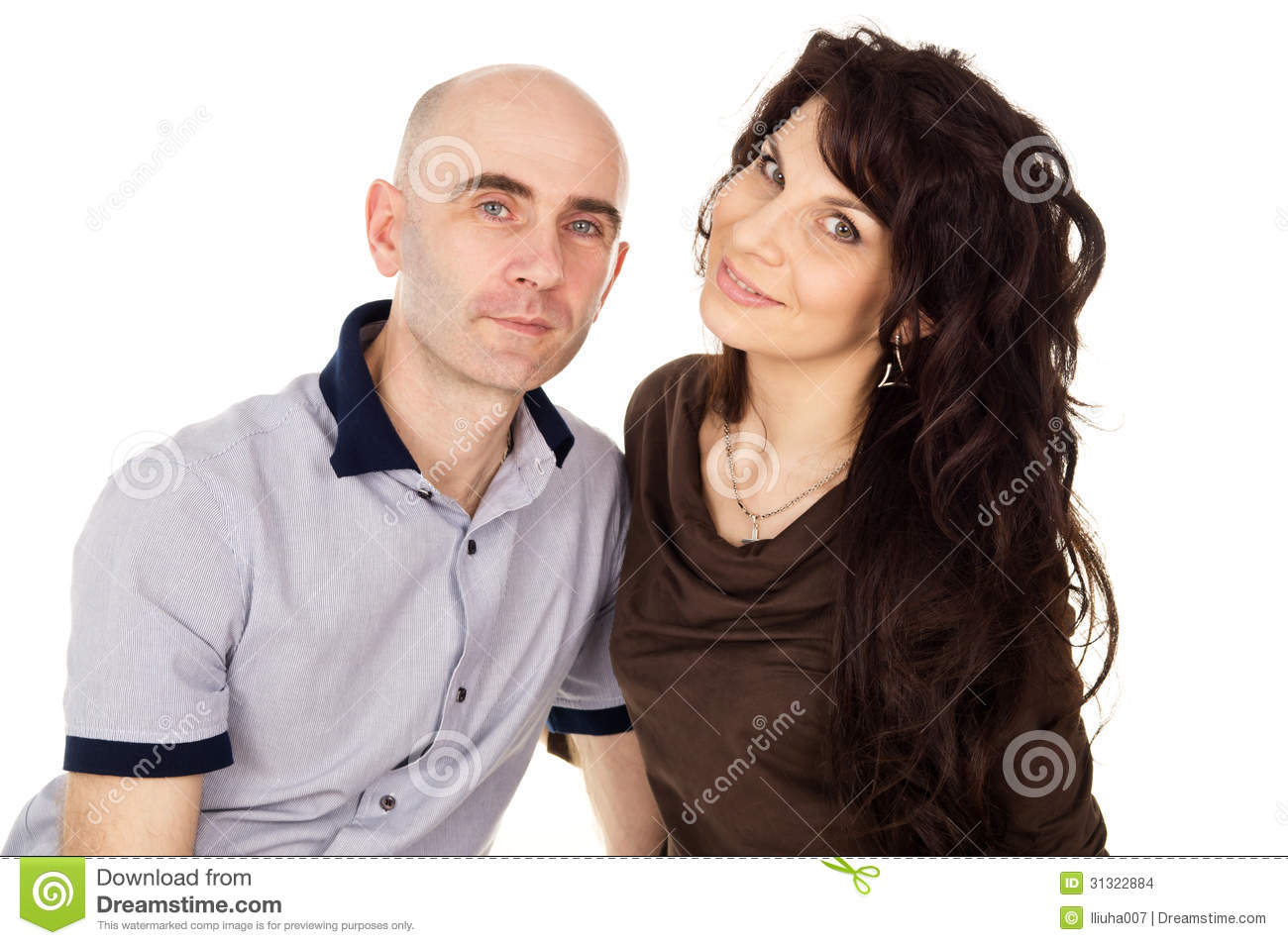 Stock Images  Portrait of happy husband and wifePortrait Of A Husband And Wife