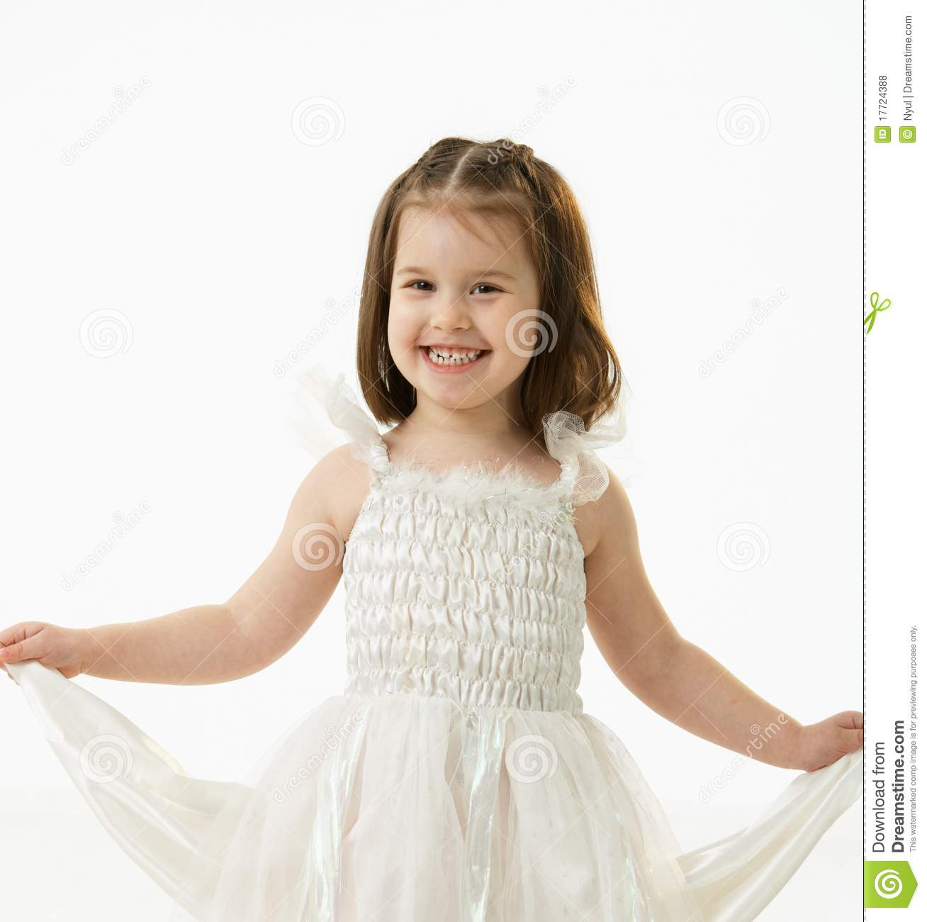 f6a86748a4d1 Portrait Of Happy Little Girl Stock Photo - Image of cute
