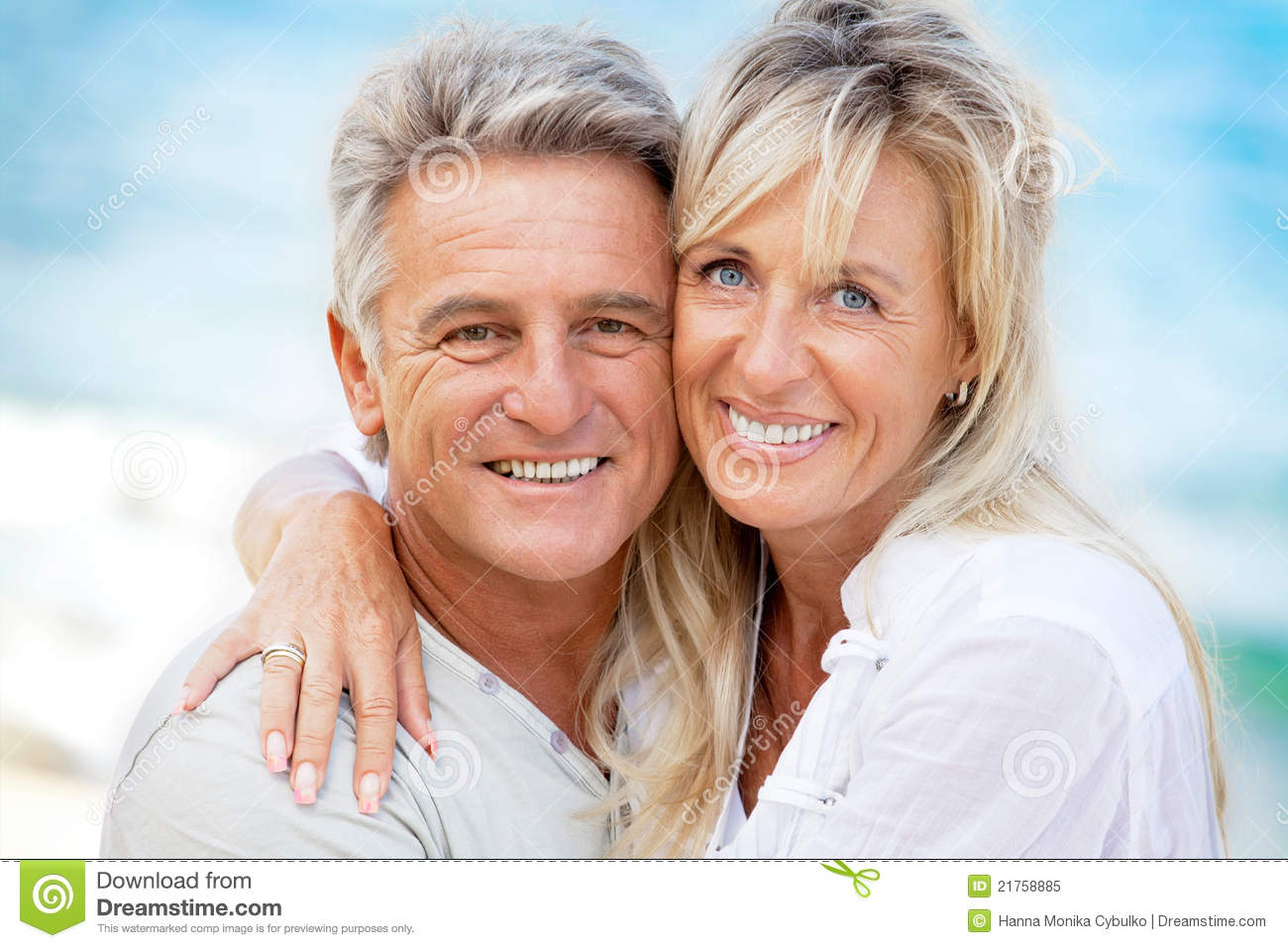 Portrait of a happy romantic couple