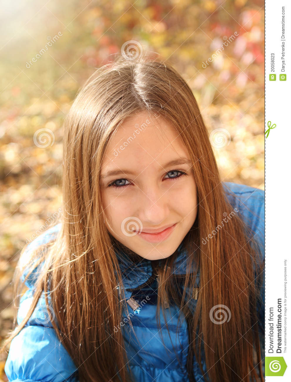 Happy Teen By Crumbling Wall Stock Image: Portrait Of A Happy Teen Girl Stock Photos