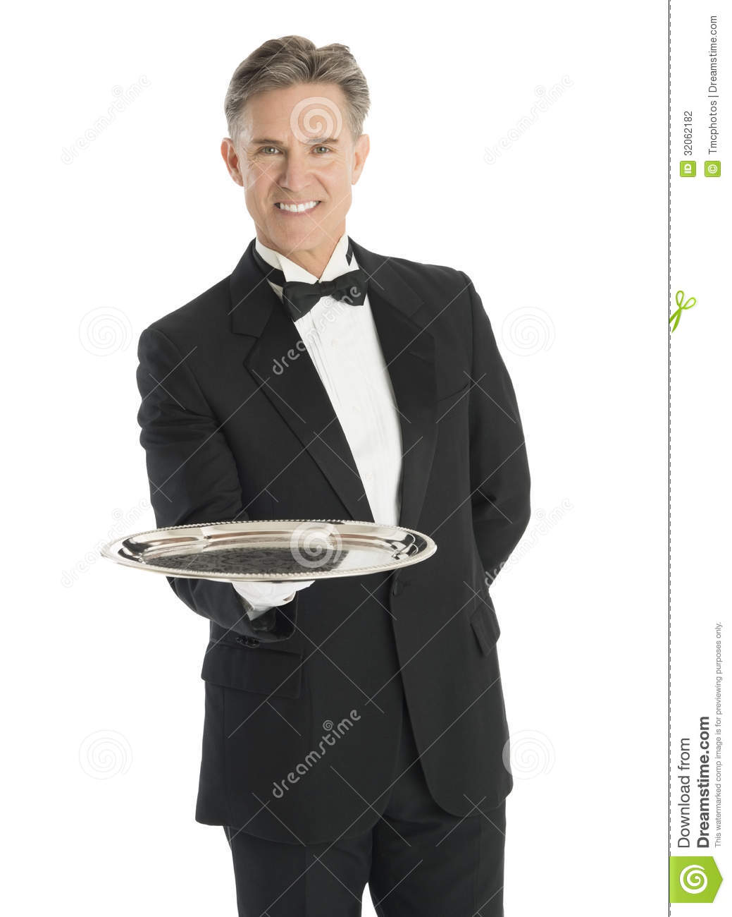 Carrying Serving Tray  Waiters Serving Tray