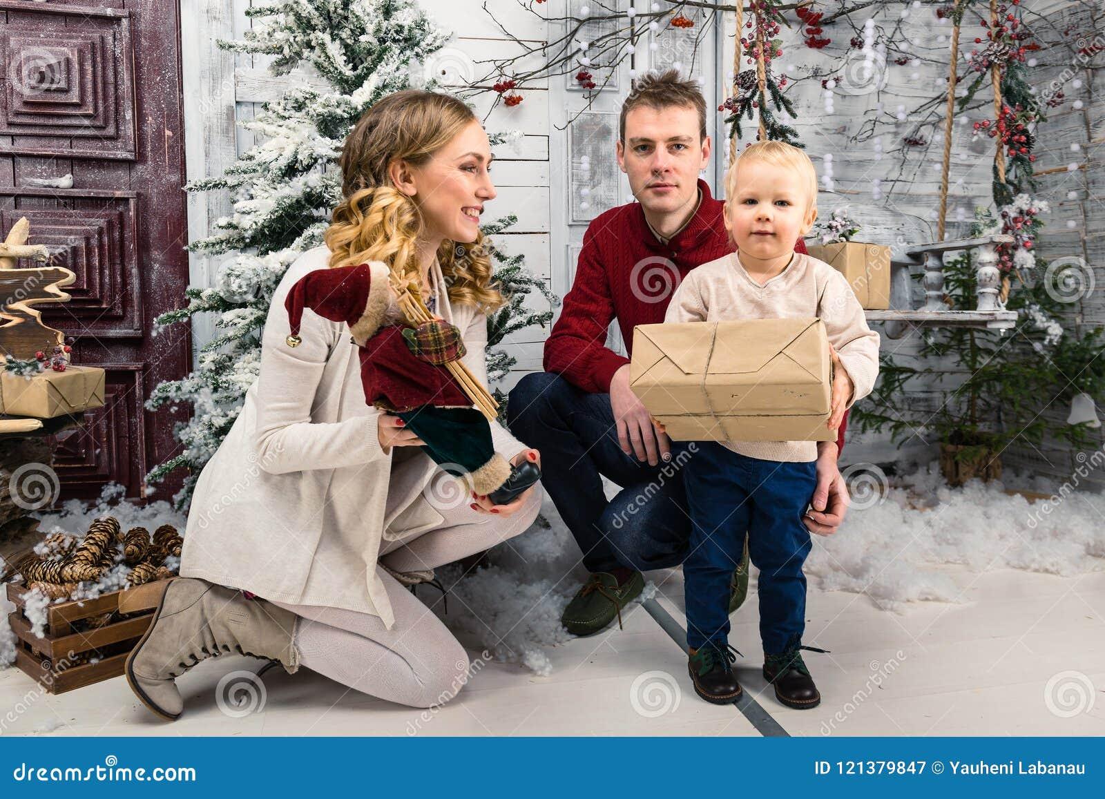 Surprising his son