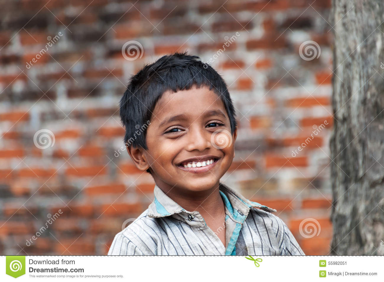 Boy In The Village Royalty-Free Stock Image  Cartoondealercom 73967356-6809