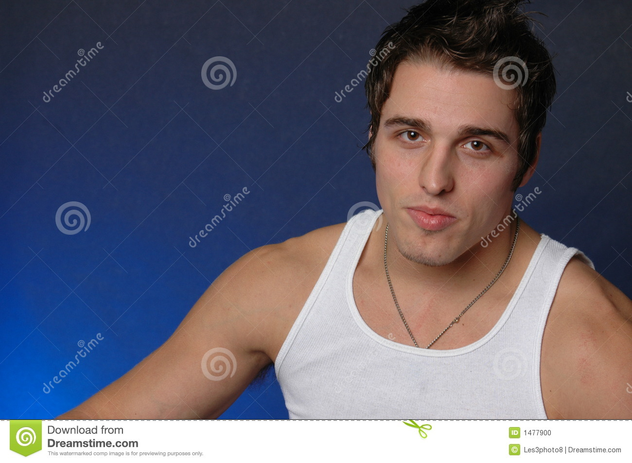 Italian American: Portrait Of An Italian American Male Stock Photo