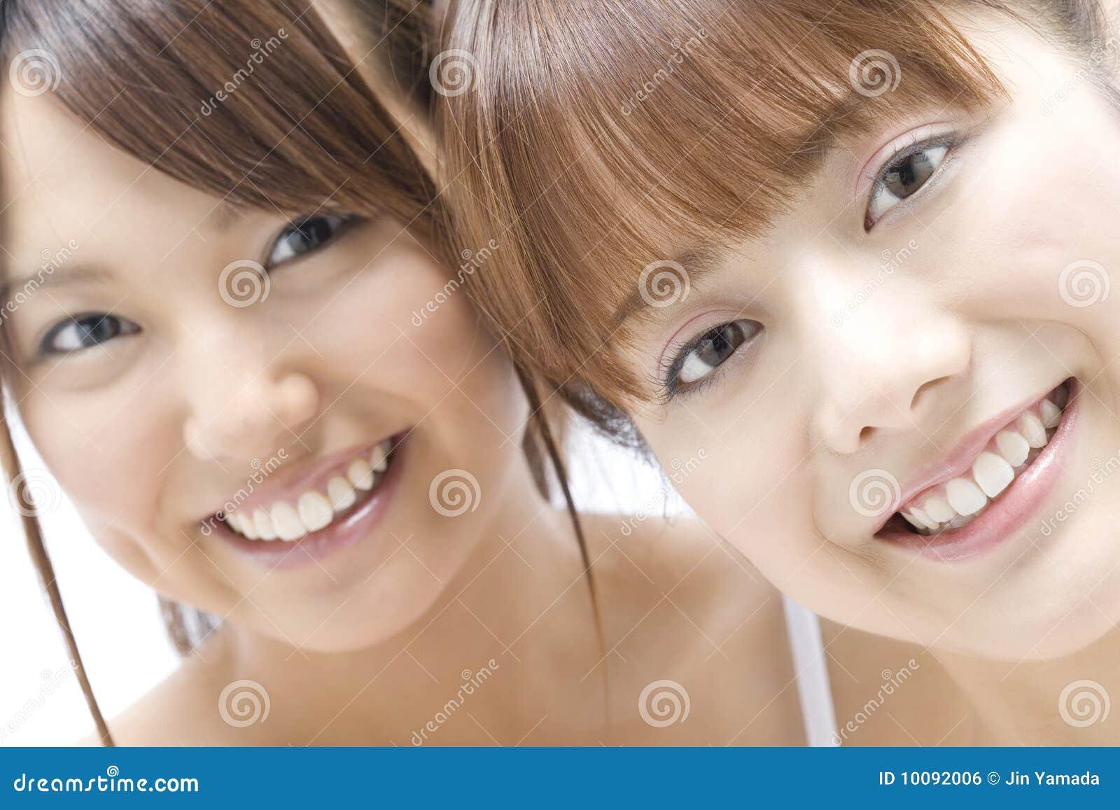 Portrait of Japanese women