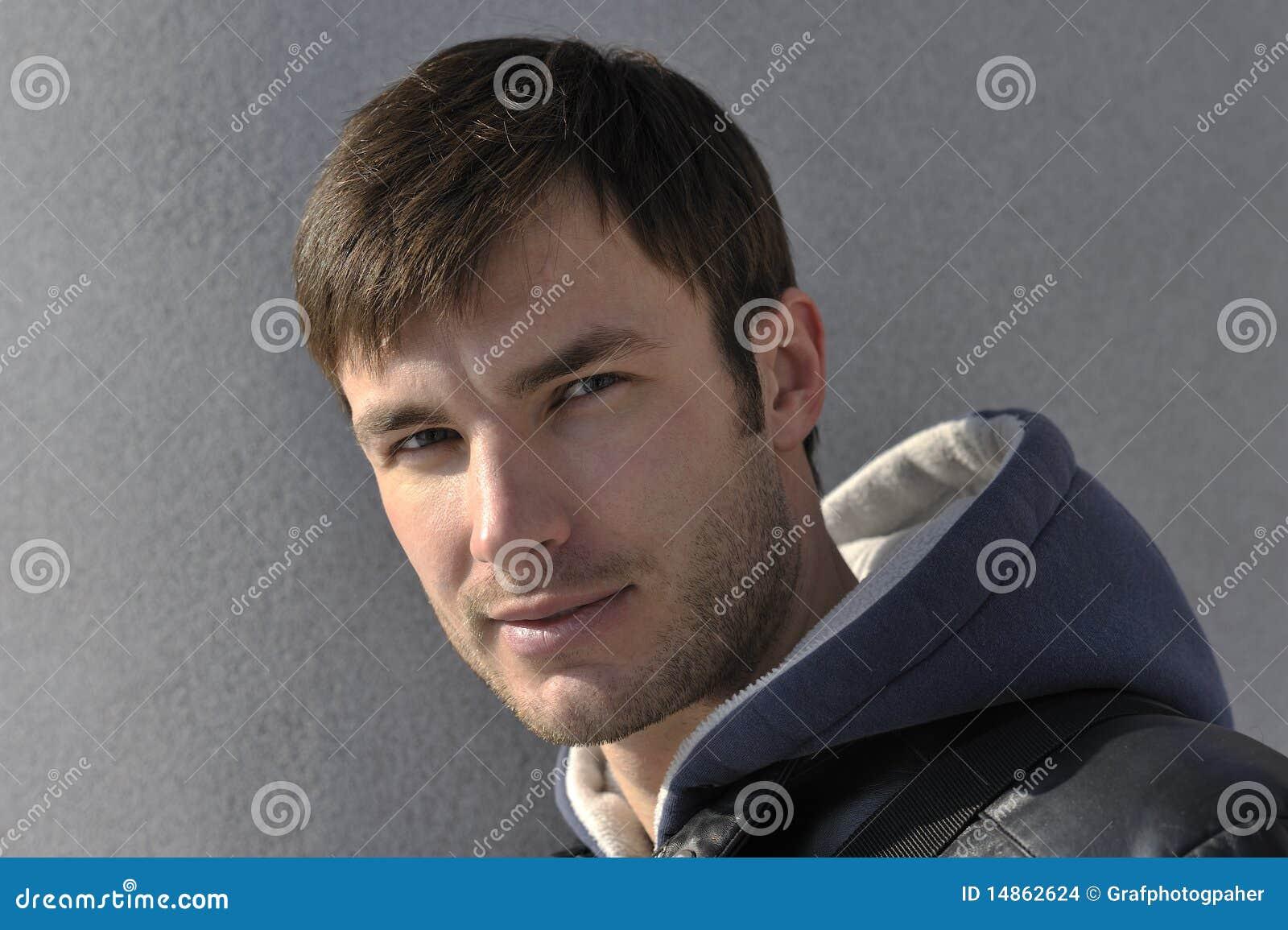 Portrait man