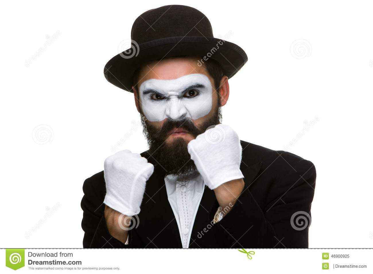 Mime Makeup Guy