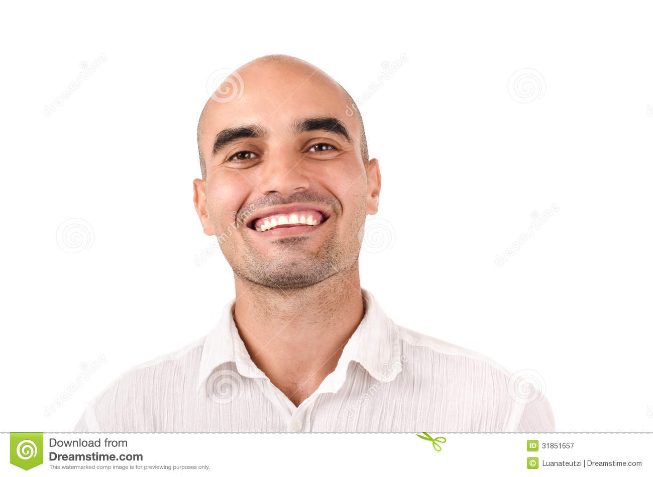 Portrait Of A Man Smiling Royalty Free Stock Photography Image 31851657