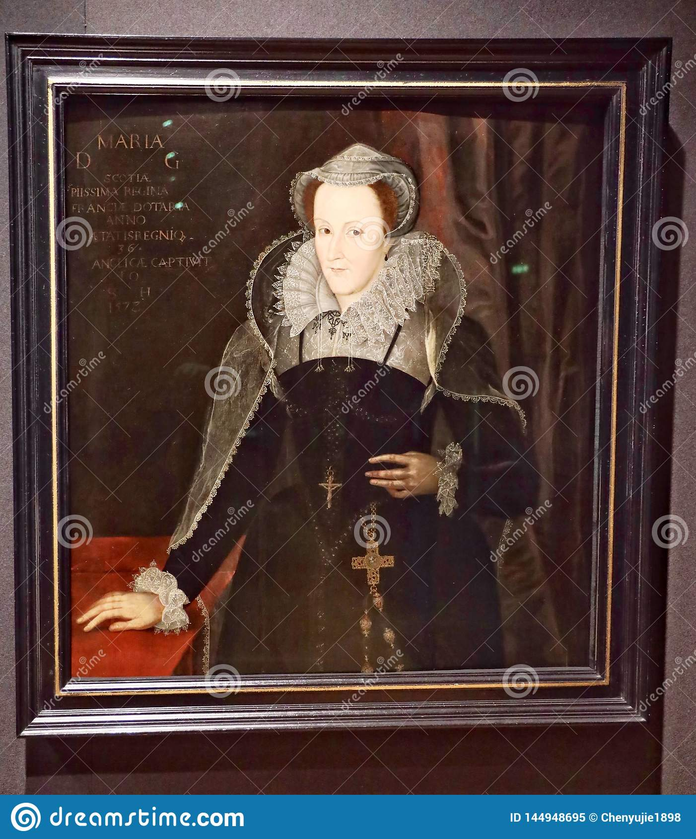 Portrait of Mary, Queen of Scots