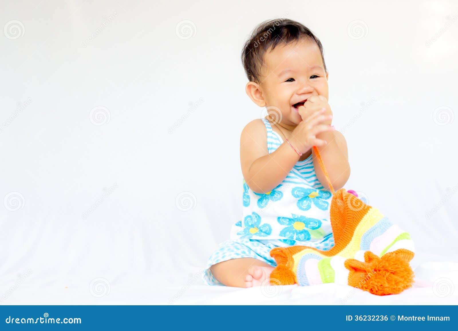 Portrait mignon de bébé de bébé