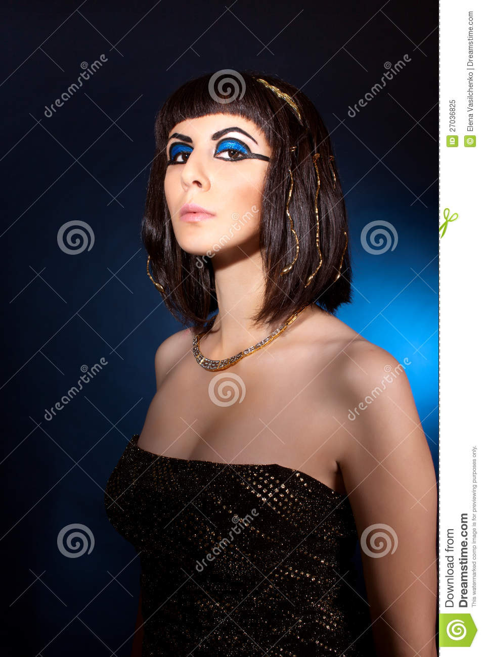 Royalty-Free Stock Photo. Download Portrait Of Naughty Woman ...