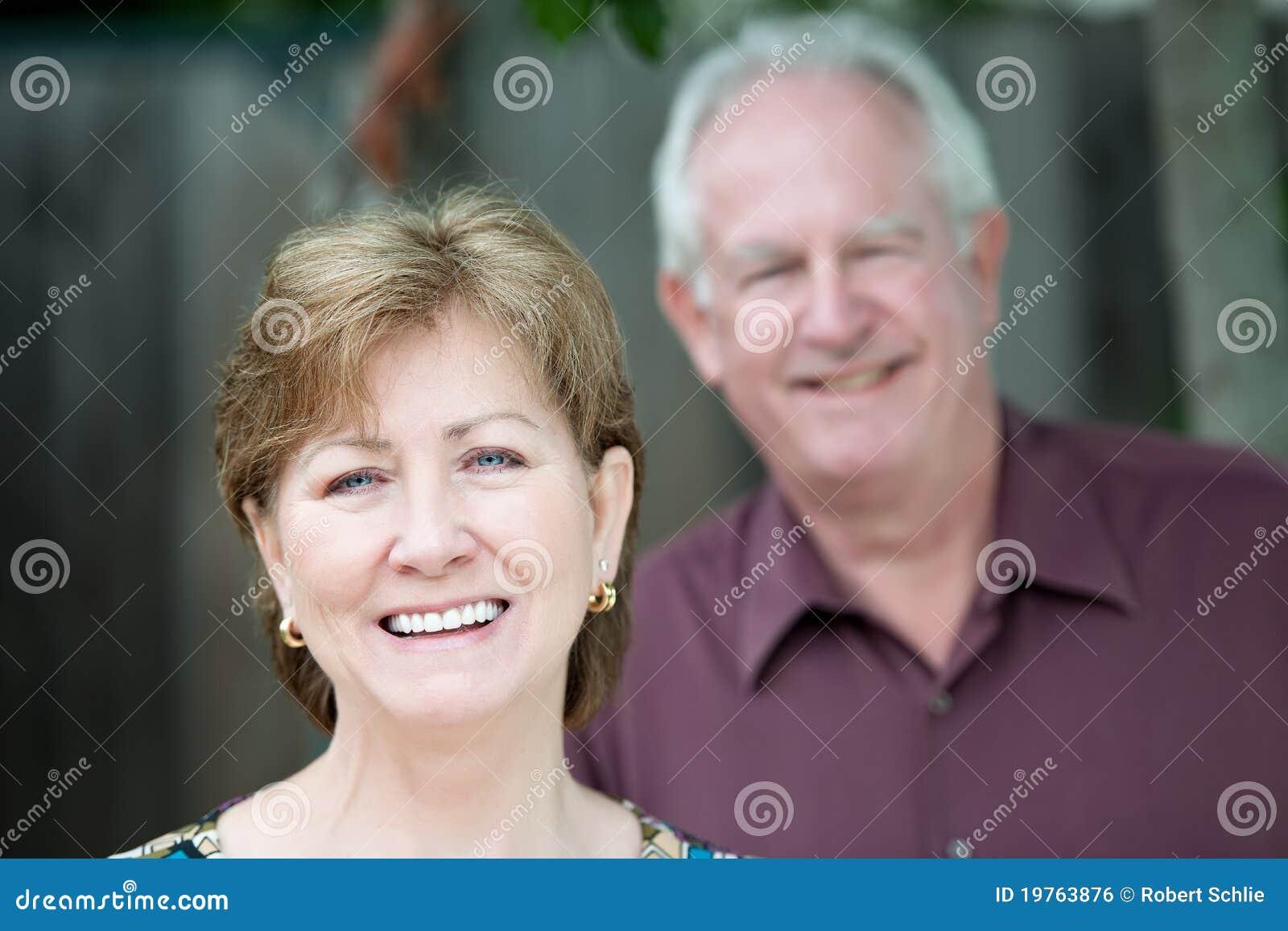 Portrait of Older Couple