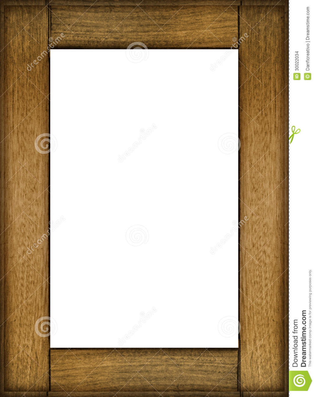 portrait photo frame mockup