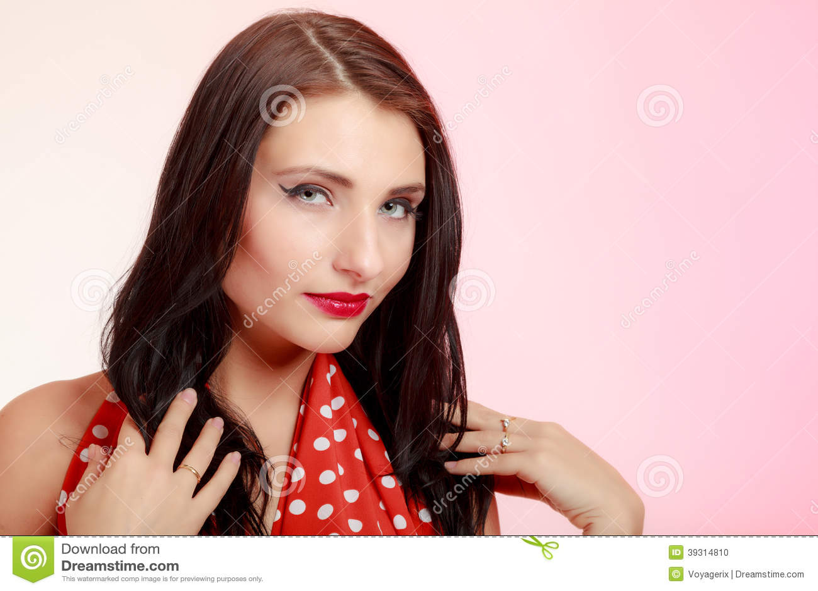 retro brunette Vintage