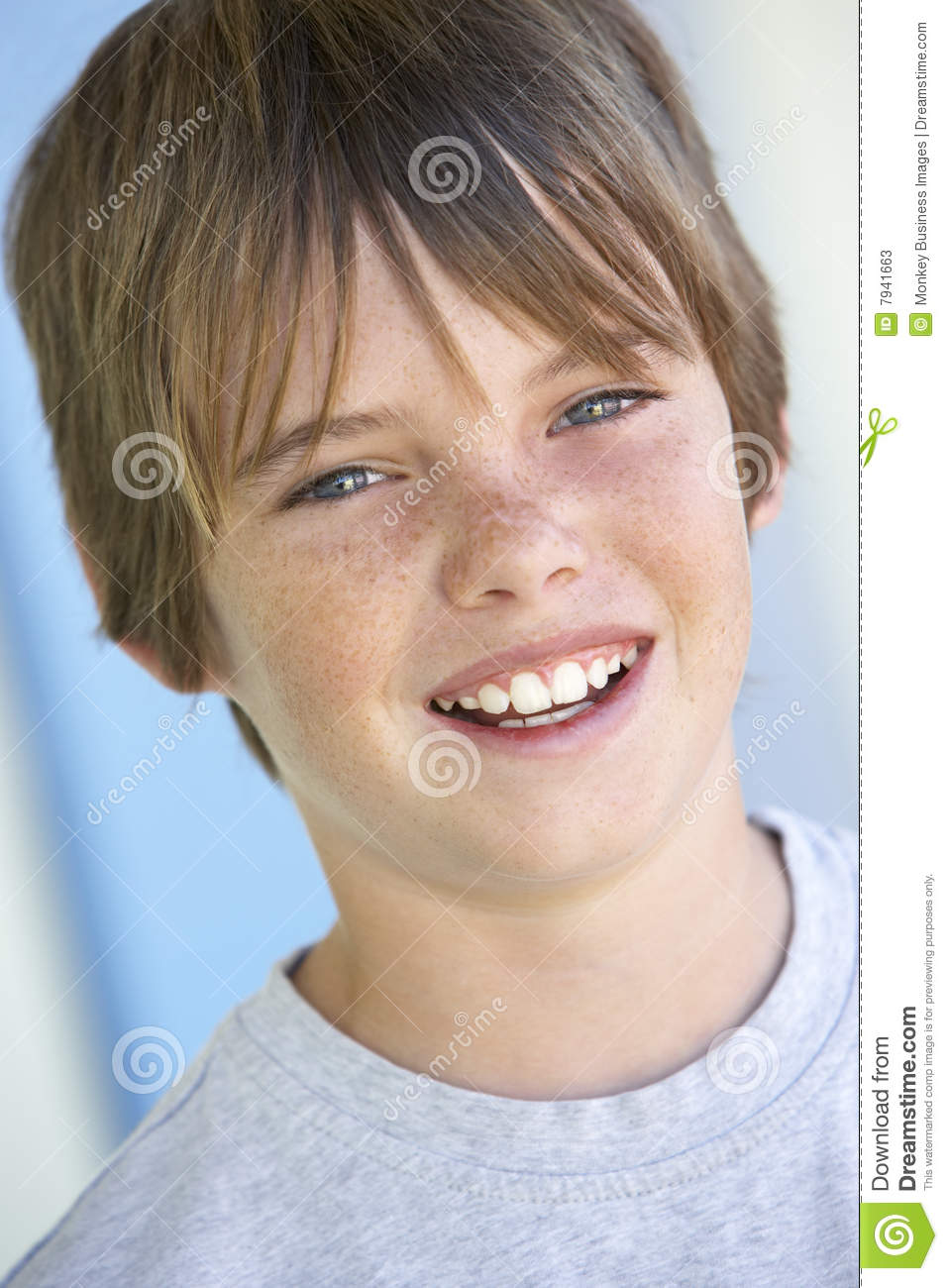 teenboy Portrait Of Pre Teen Boy Smiling Stock Photos - Image: 7941663