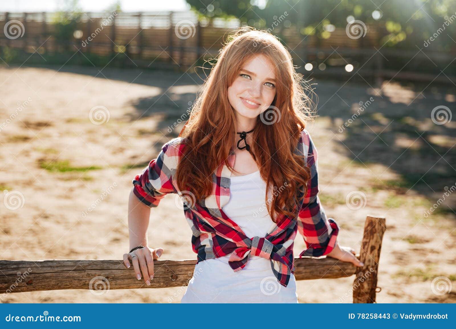 Sweet redhead cowgirl free bend