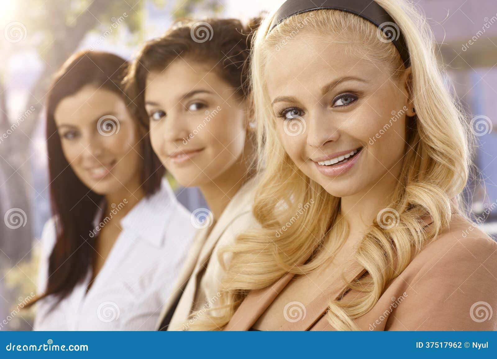 Portrait of pretty women