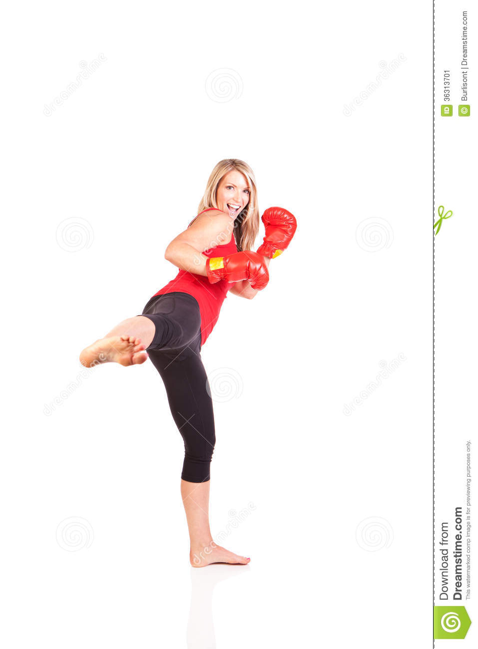 how to wear kickboxing gloves