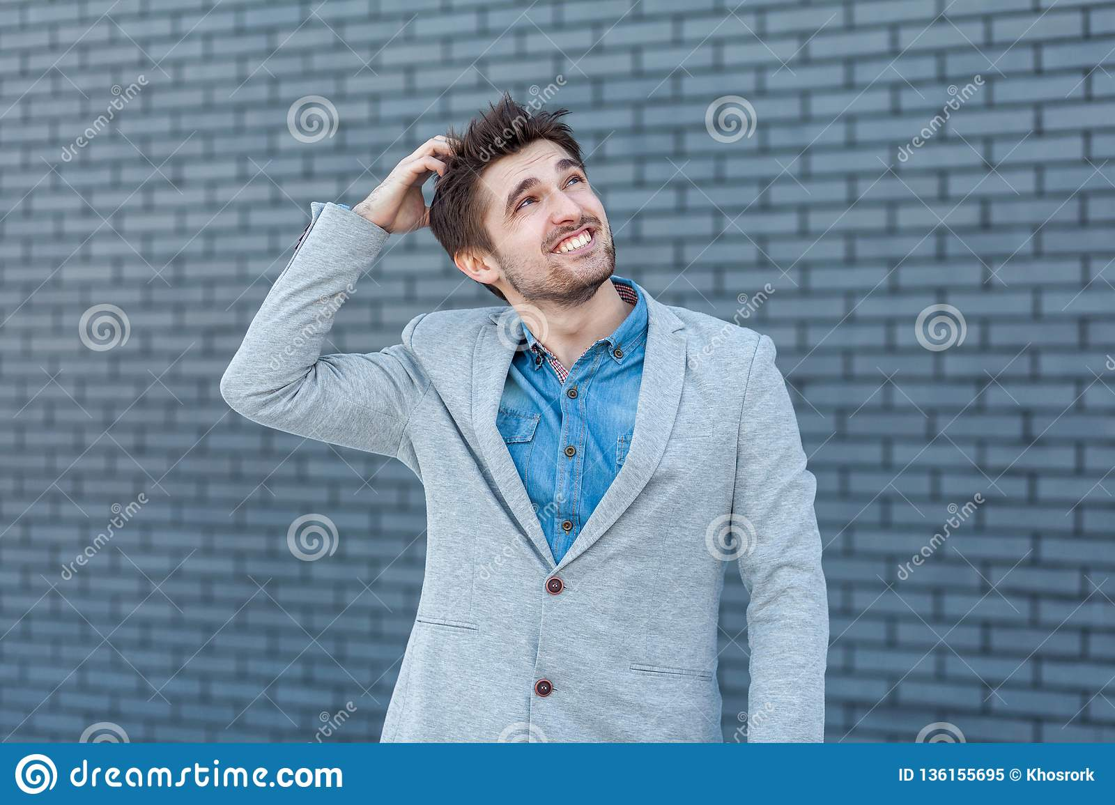 6d067aa84481 Quizzical Man Stock Images - Download 359 Royalty Free Photos