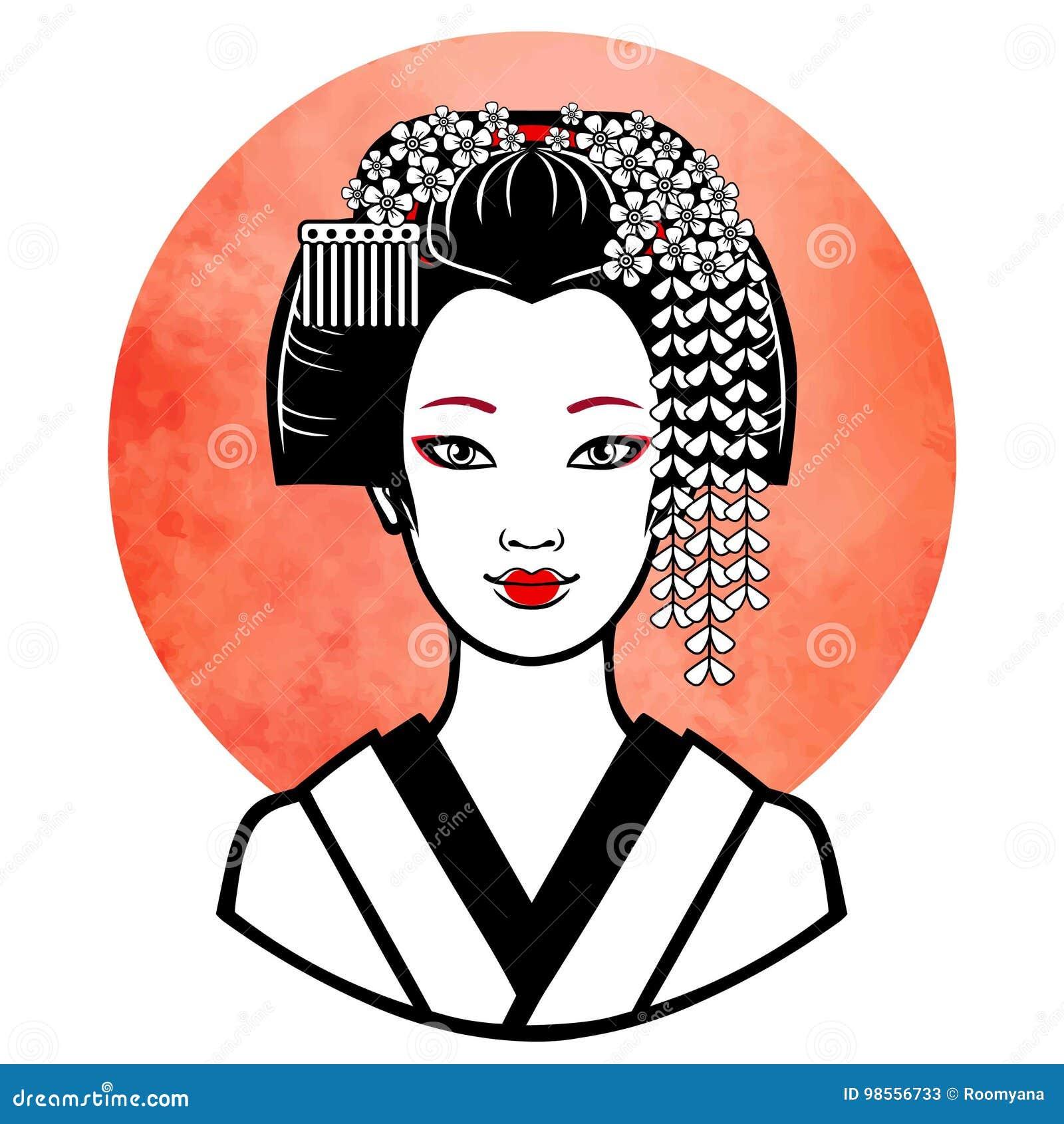 Article 06 La Preparation Coiffure Maquillage Kimono