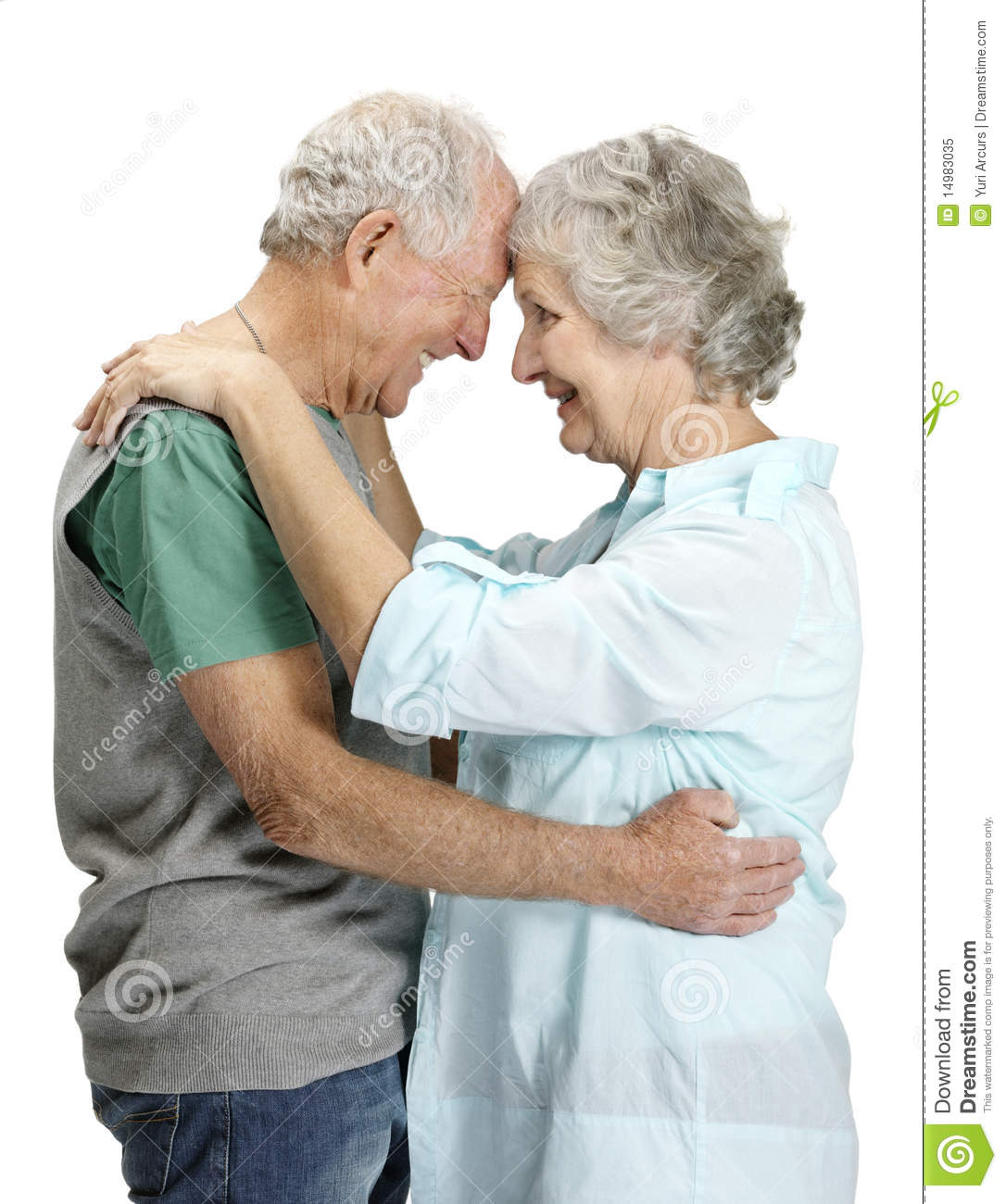 Couple At The Beach Stock Image Image Of Caucasian: Portrait Of Romantic Senior Couple In Love Stock Image