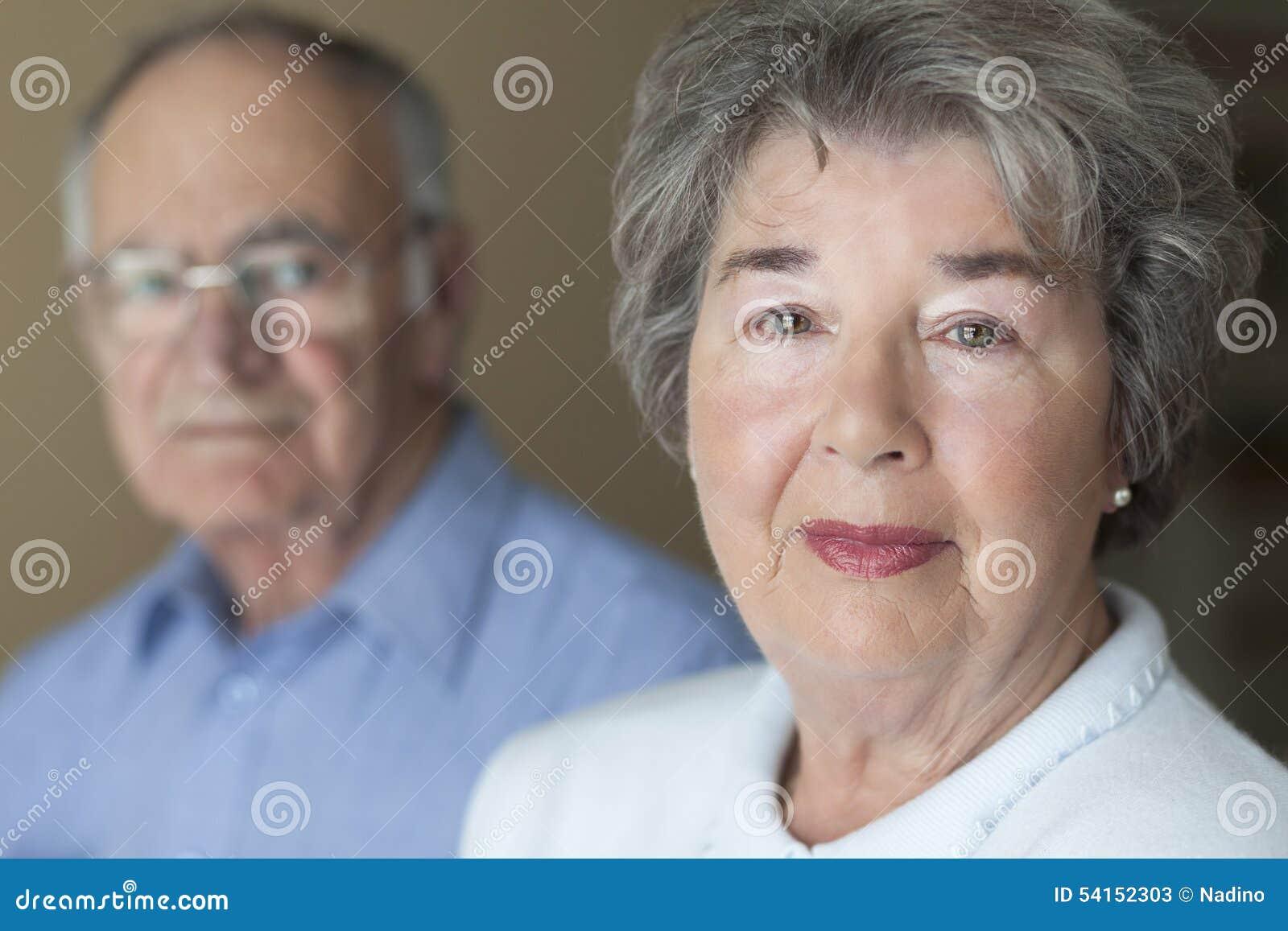 Portrait Of A Senior Couple