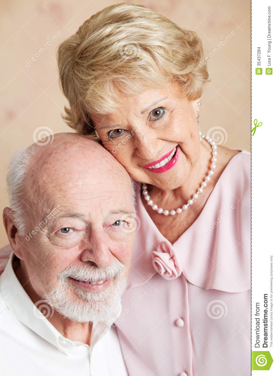 Portrait of Senior Husband and WifePortrait Of A Husband And Wife