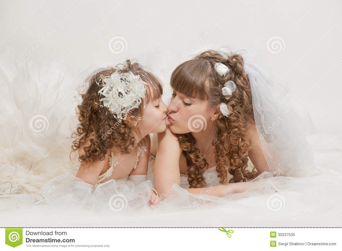In The Wedding Clouds Stock Image. Image Of Family