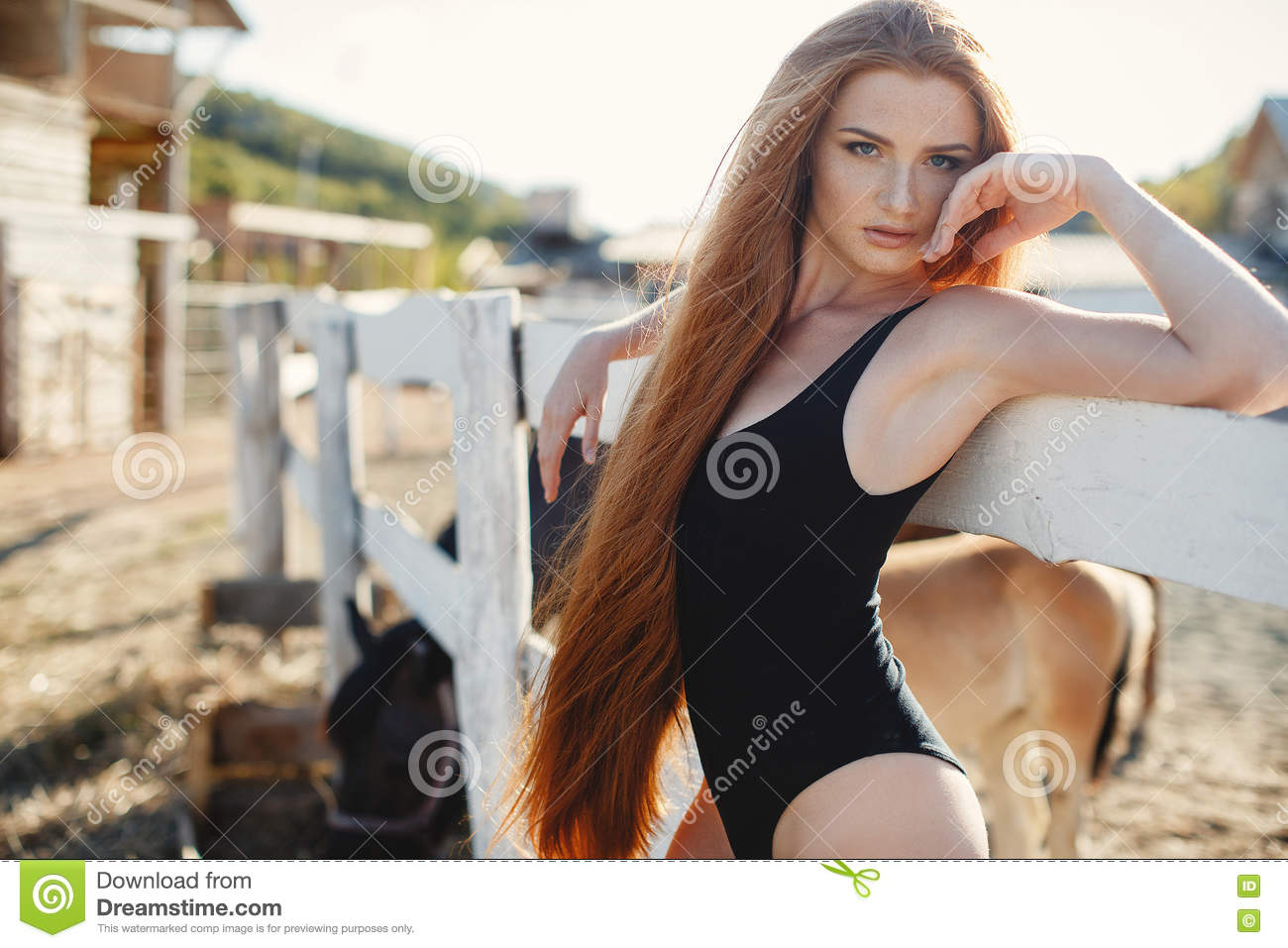 beautiful thick country girl nude