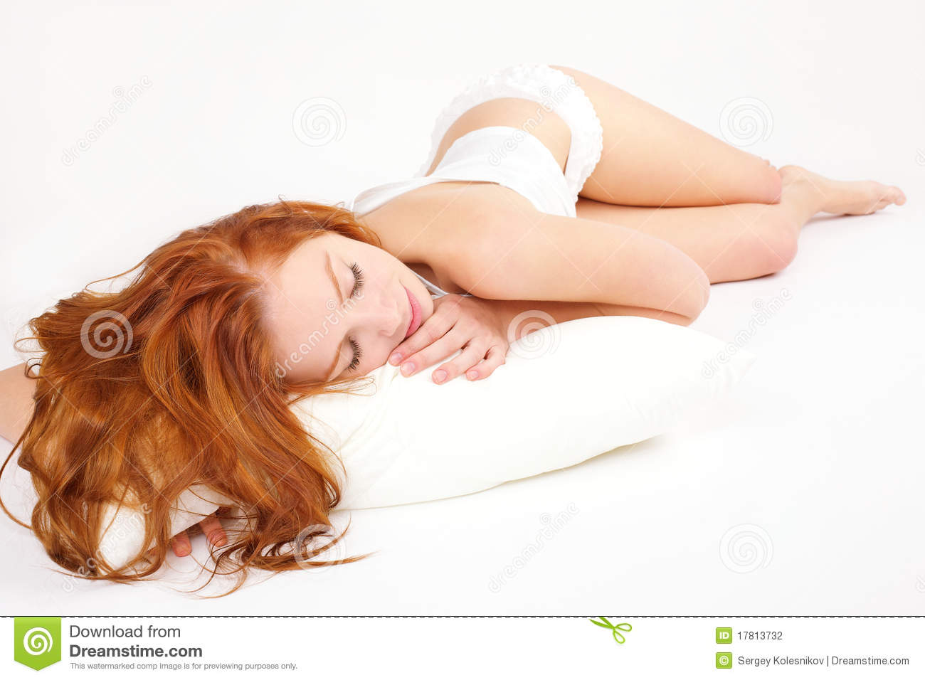 For sleeping redhead pics well, not