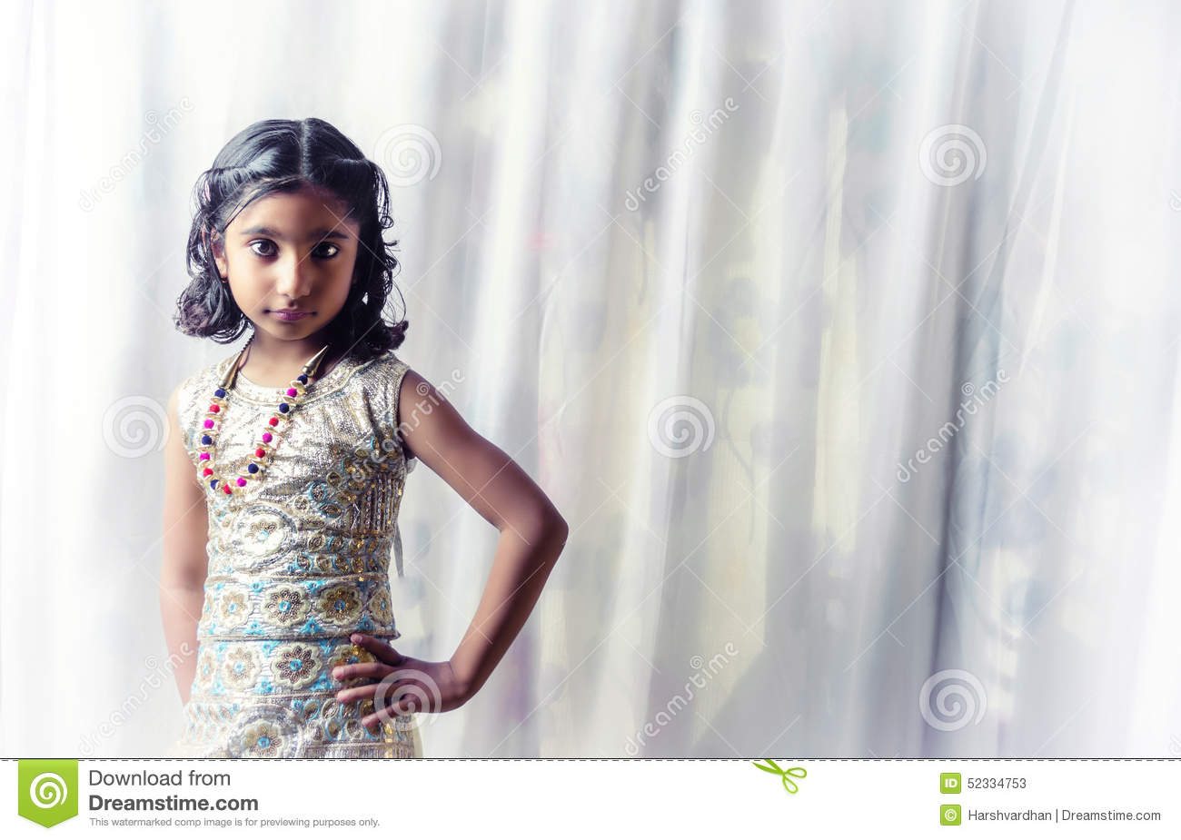 Admirable Portrait Of Small Indian Child Stock Photo Image 41615744 Hairstyles For Women Draintrainus