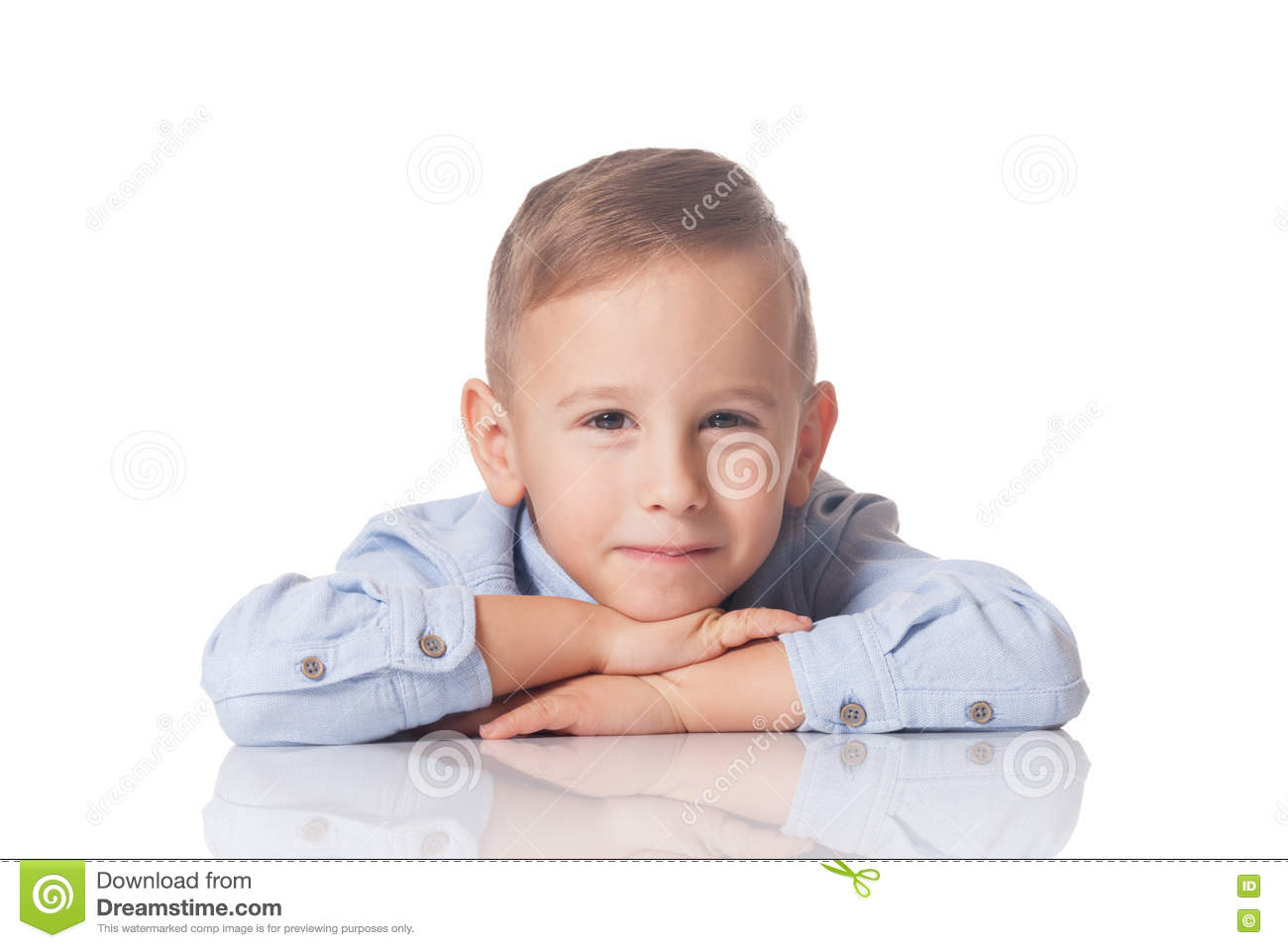 Download Portrait of a smiling boy stock image. Image of funny - 78879801