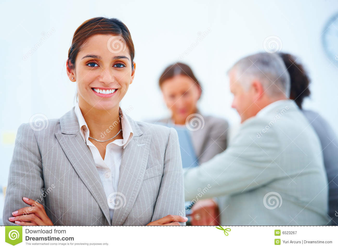 Royalty Free Stock Photography: Portrait of a smiling ...