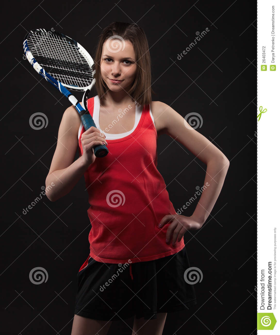 from Jefferson photo of teen tennis player