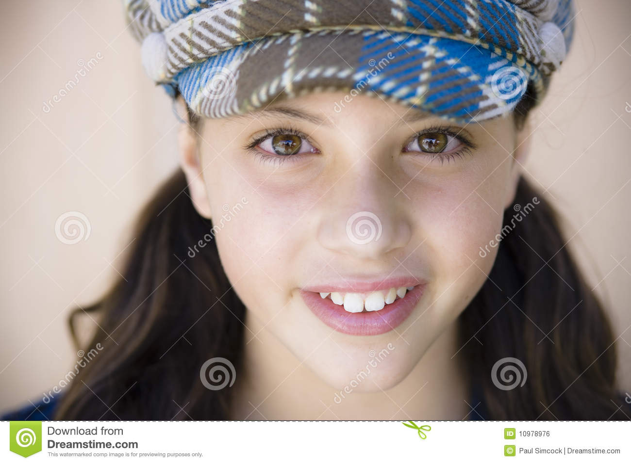 Portrait Of Tween Girl Royalty Free Stock Image  Image: 10978976