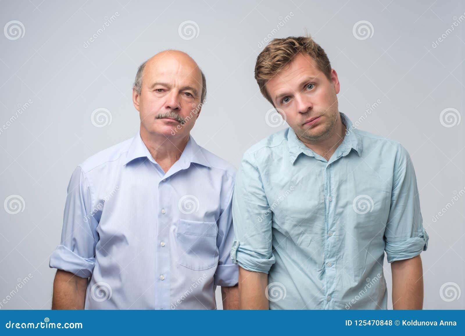Two mature men