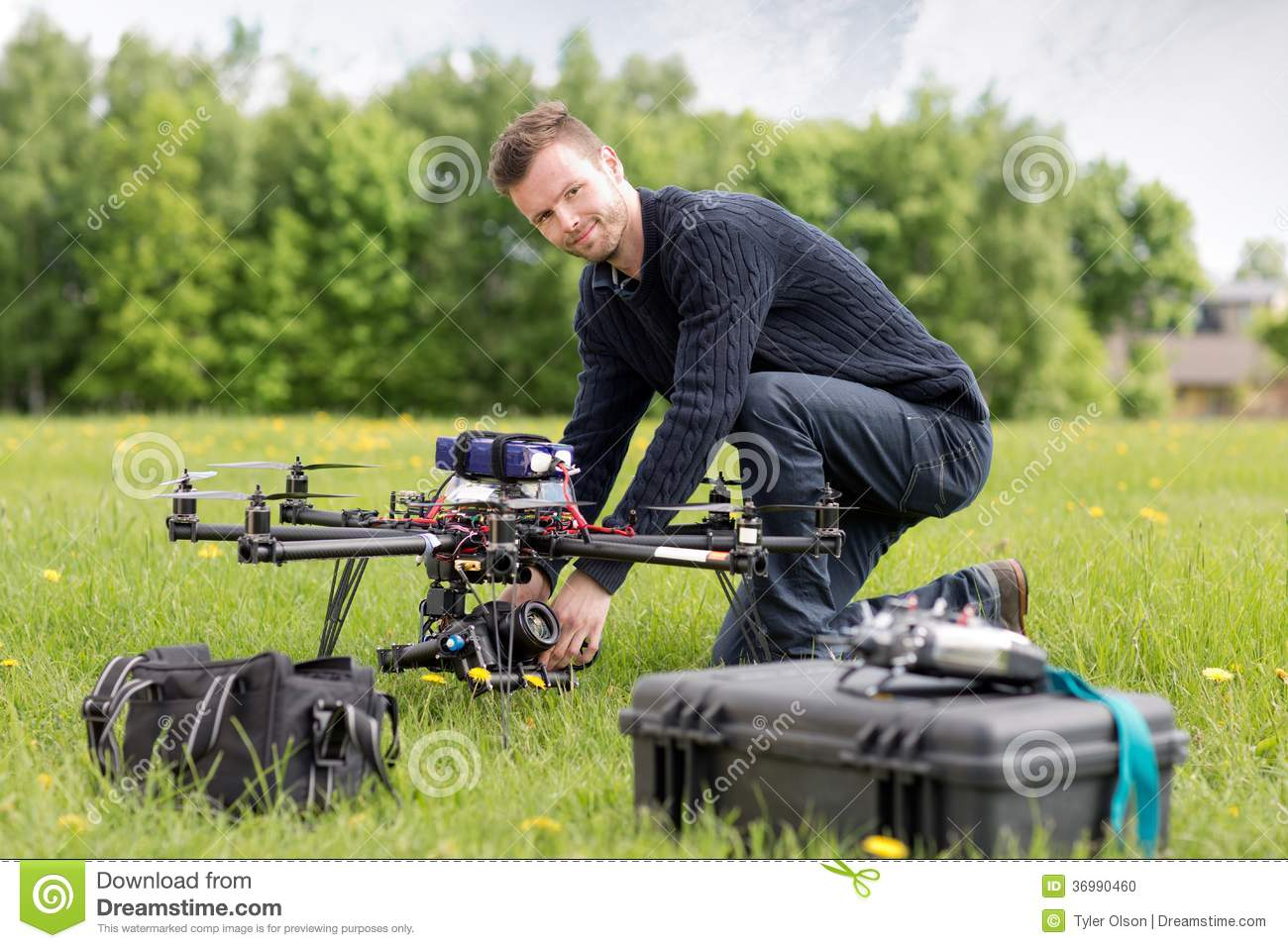 Portrait of an UAV Aerial Photography