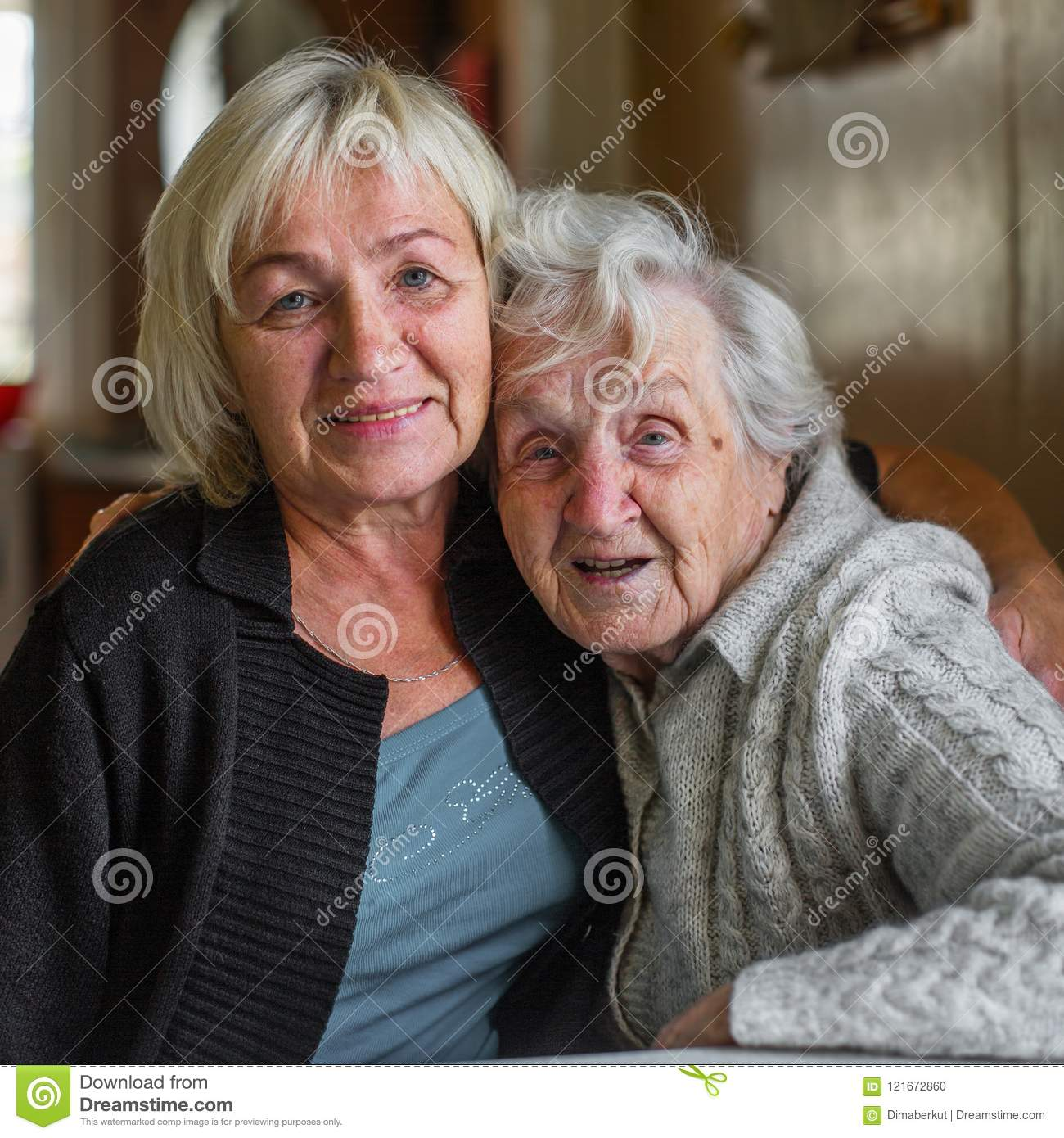Old woman love