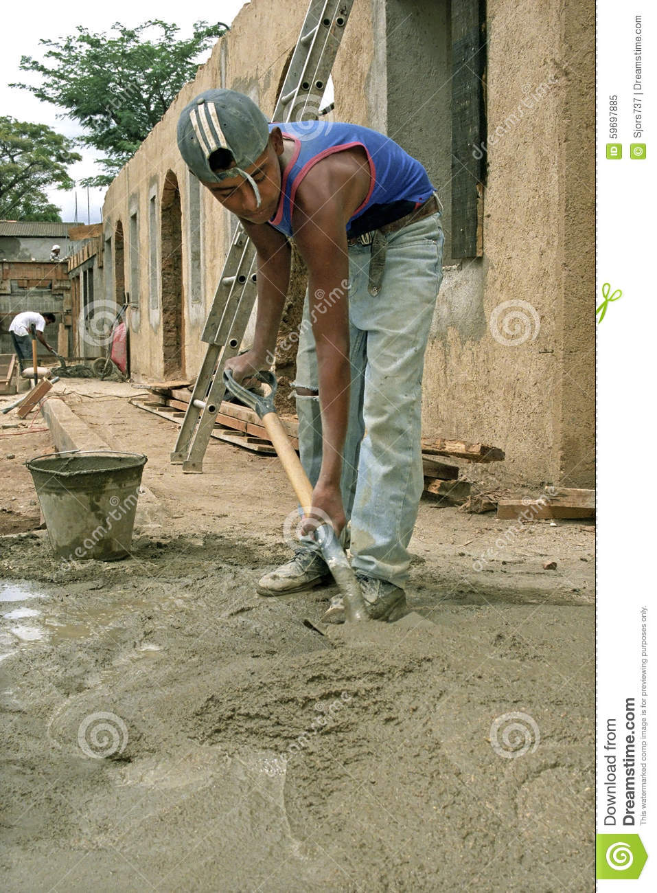 construction picture teen worker