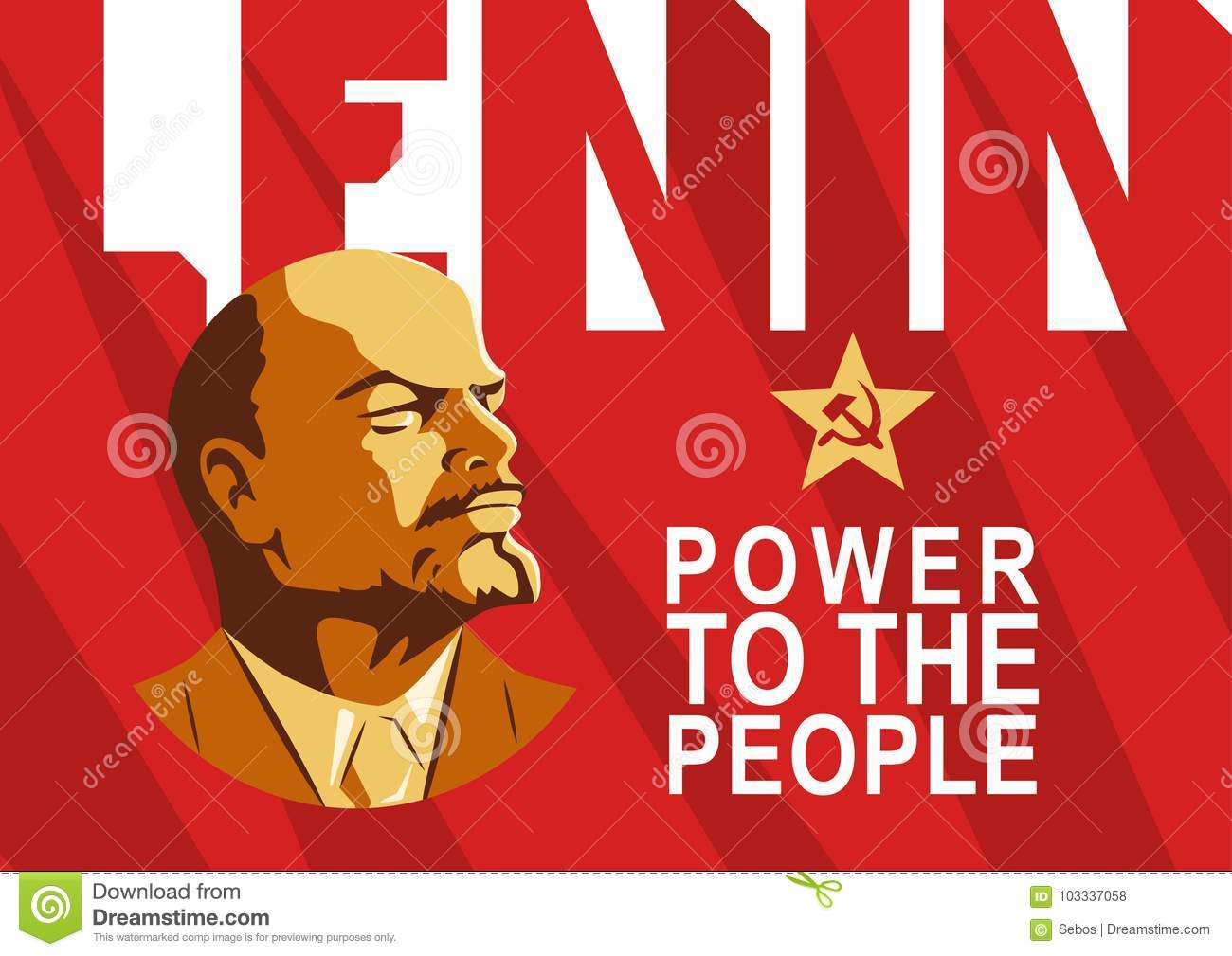 Power to the people stock illustration. Illustration of.