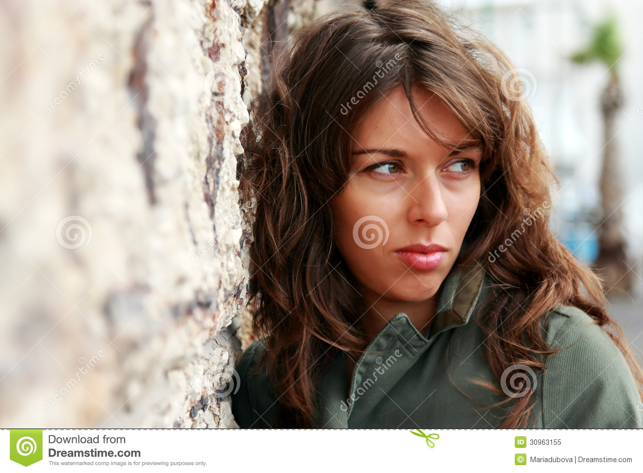 Portrait Of 25-years-old Girl Royalty Free Stock Photo