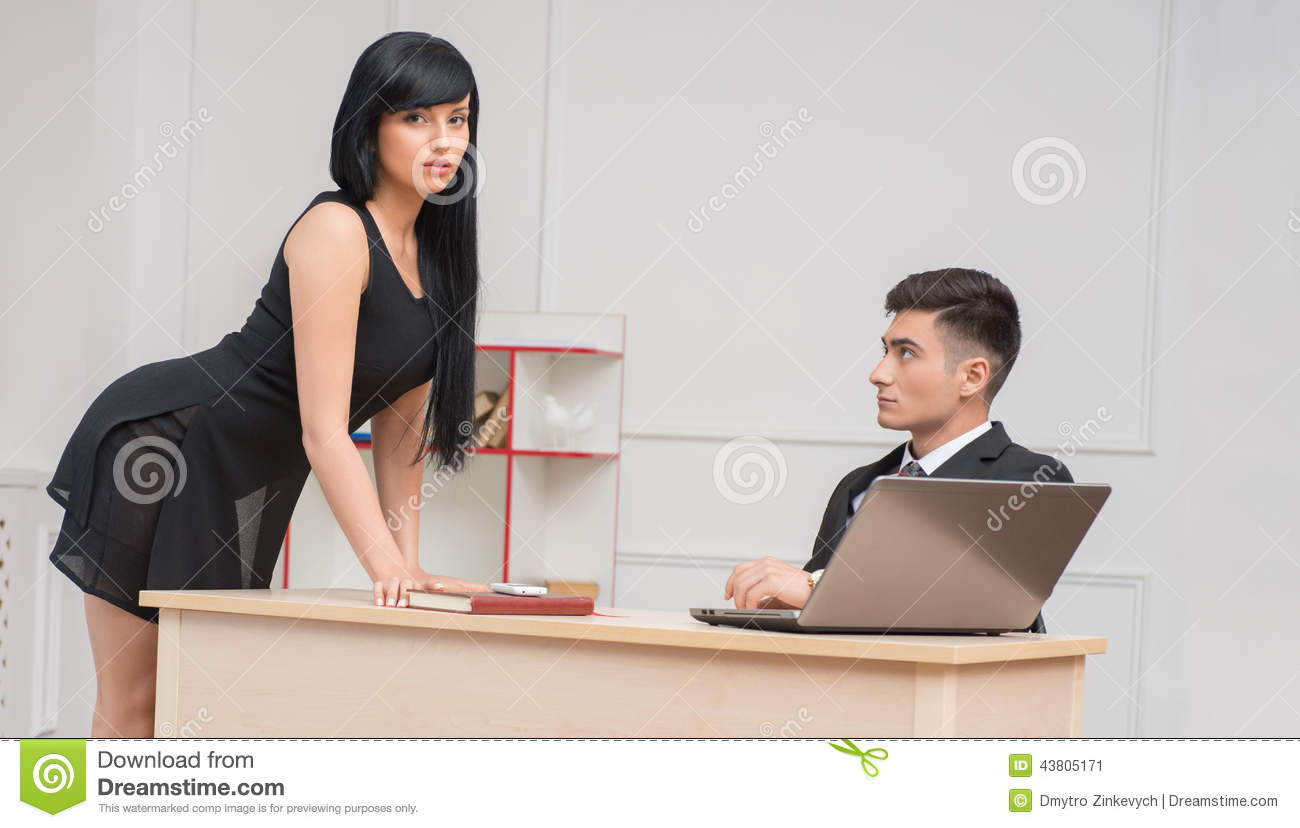 How To Flirt With Someone At Work