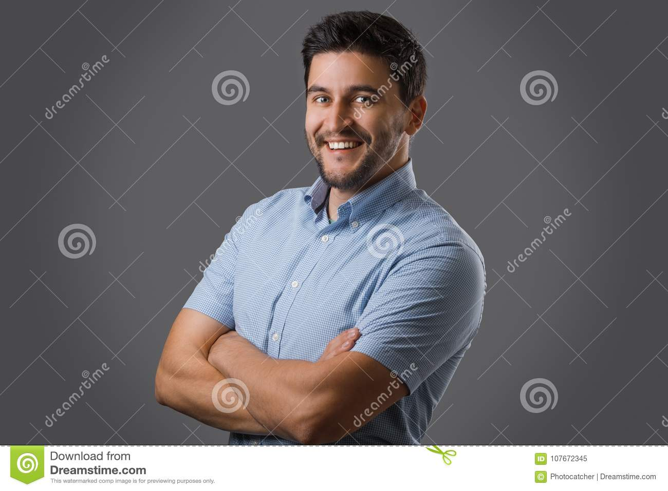 Portrait Of Young Ceo Stock Image Image Of Laughing 107672345