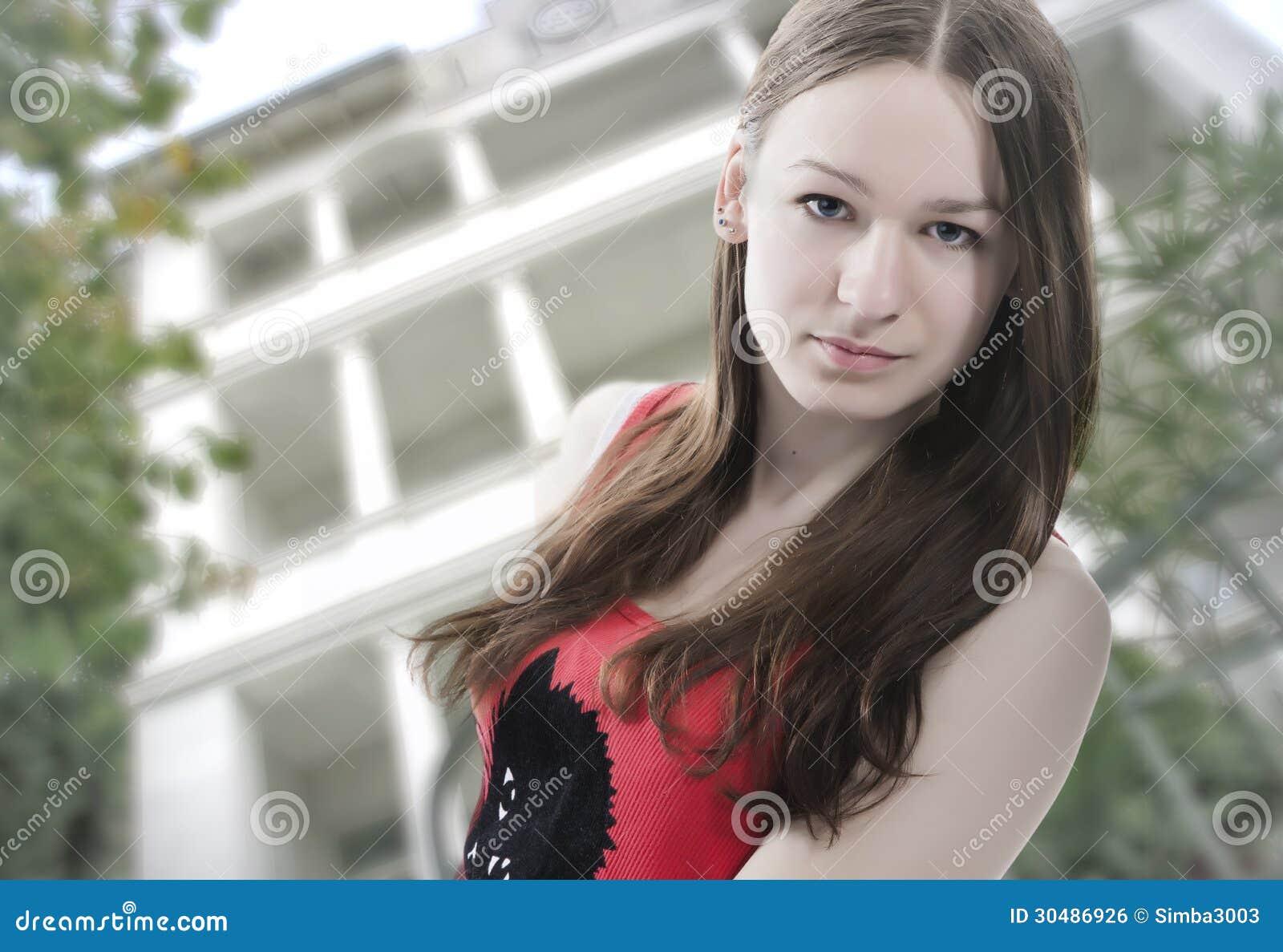 Free long hair teen photos — img 12