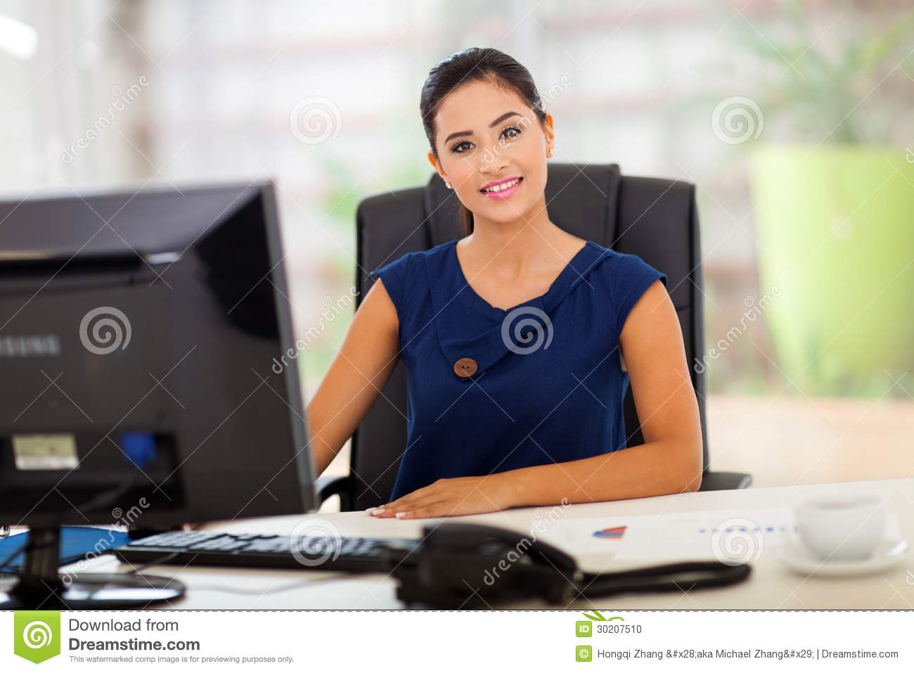 Office Manager Stock Photo Image 30207510