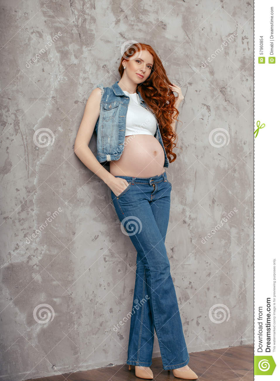pregnant woman in sexy pants porn