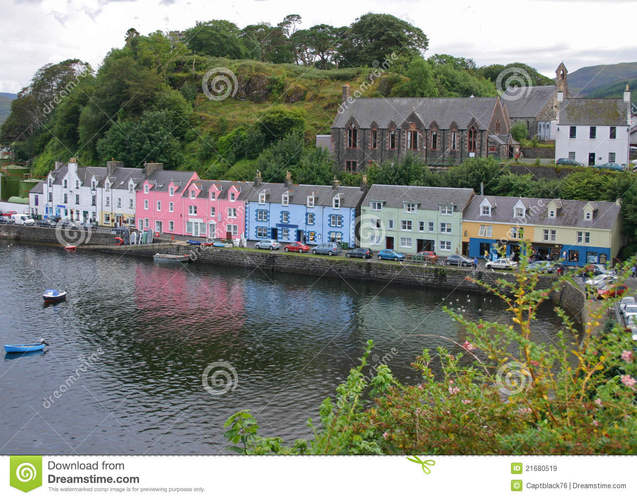 Portree , Skye Island Royalty Free Stock Images - Image: 21680519